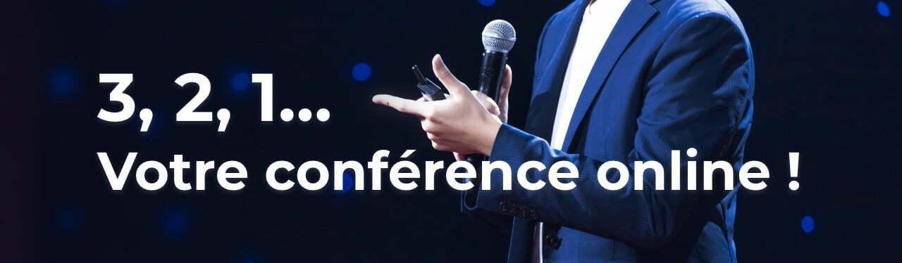 Solution clé en main pour vos conférences de presse digitales en direct ou en différé, sur votre plateforme sur mesure