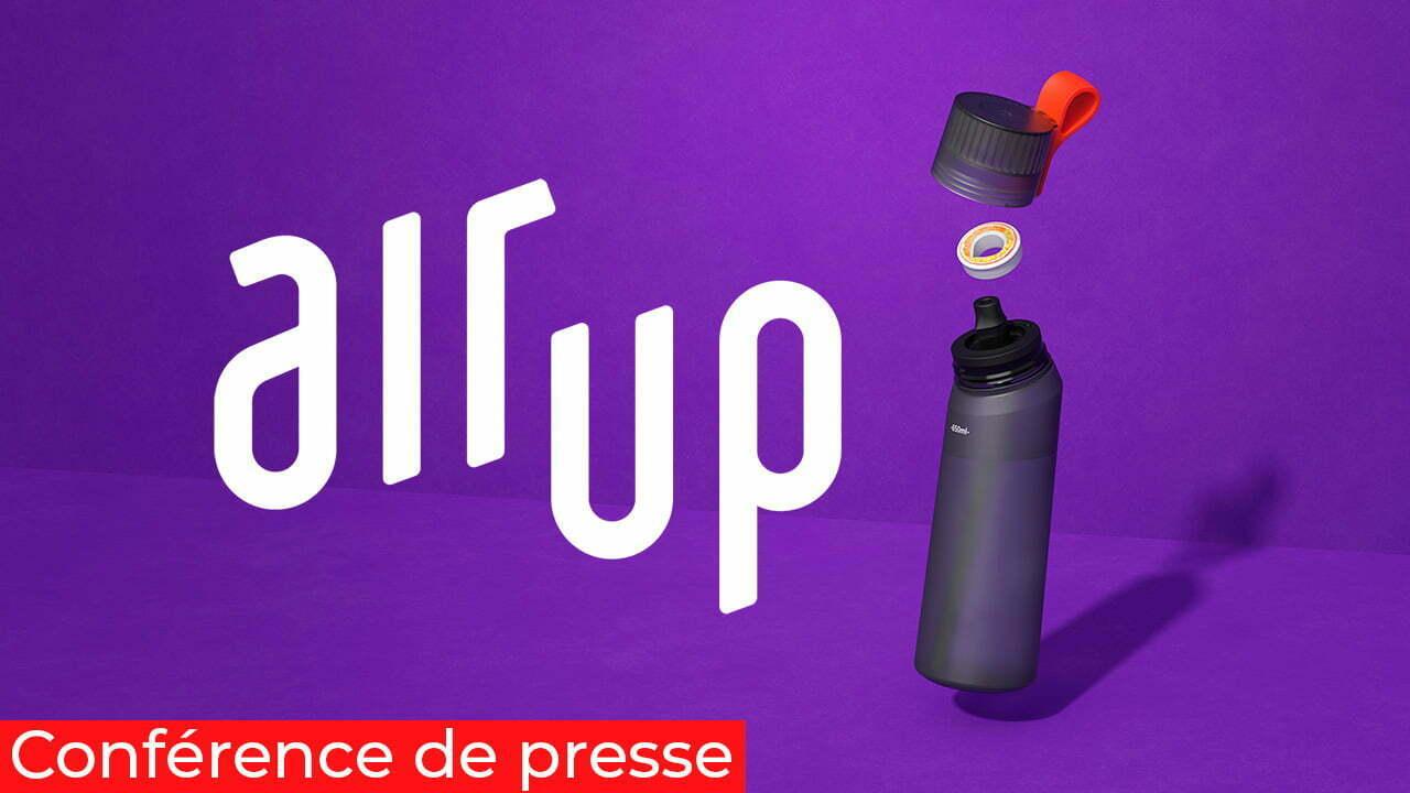 Conférence de presse digitale Air Up