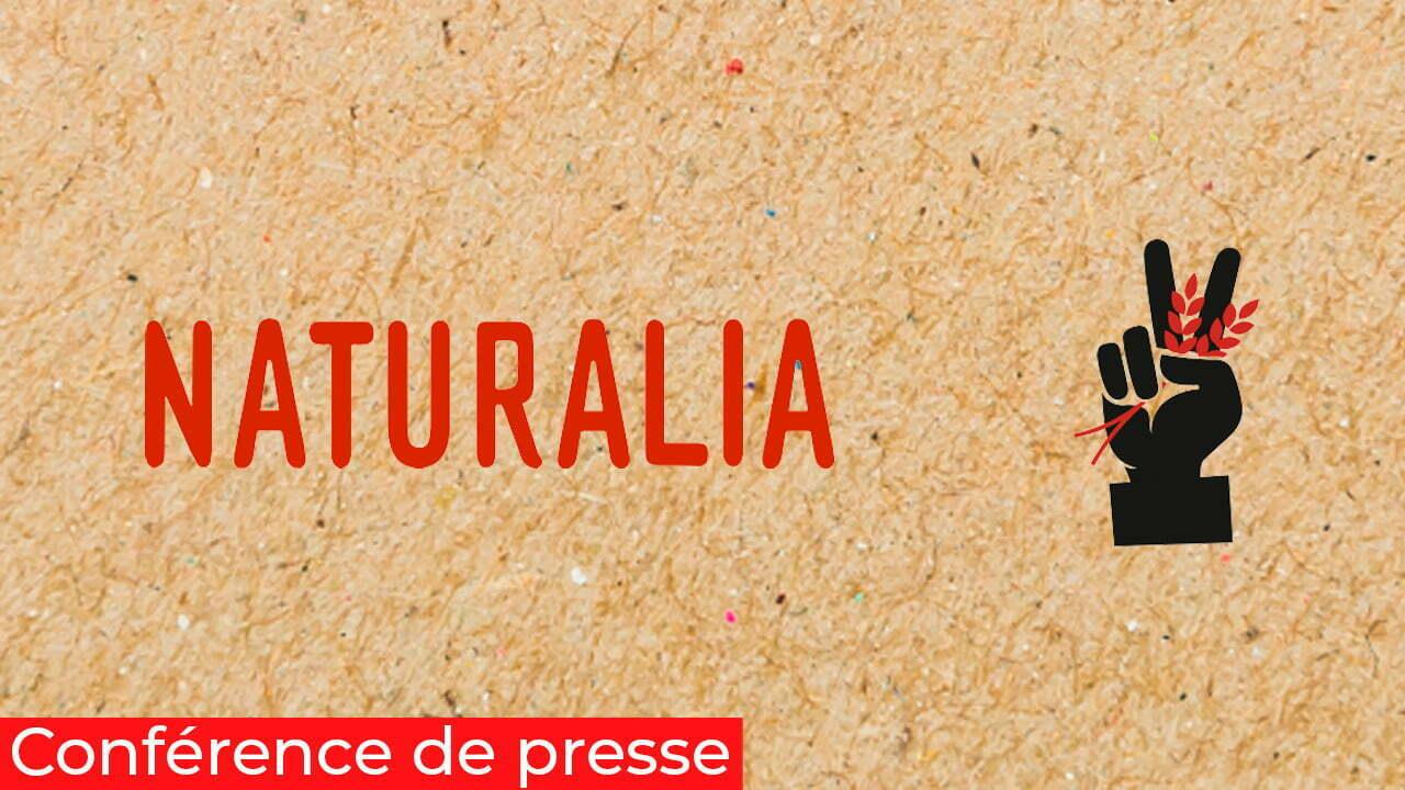 Conférence de presse digitale naturalia