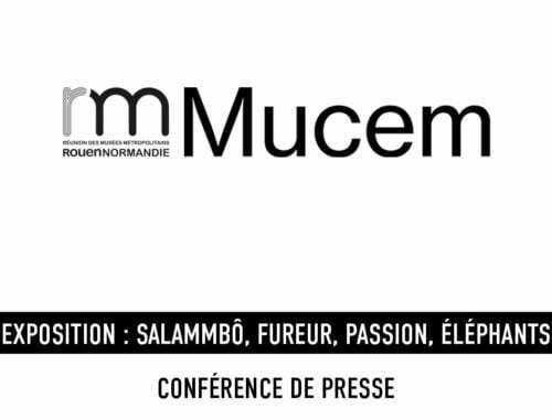 Musées Rouen - Normandie- Mucem - conférence de presse digitale